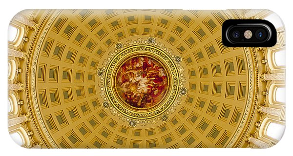Capitol Dome - Madison - Wisconsin IPhone Case