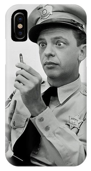 Barney Fife - Don Knotts IPhone Case