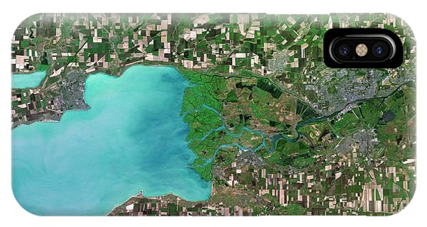 Delta iPhone Case - Don River Delta by Planetobserver/science Photo Library