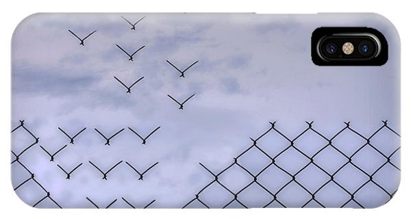 Flight iPhone Case - Dona??t Fence Me In! by Bjorn Emanuelson