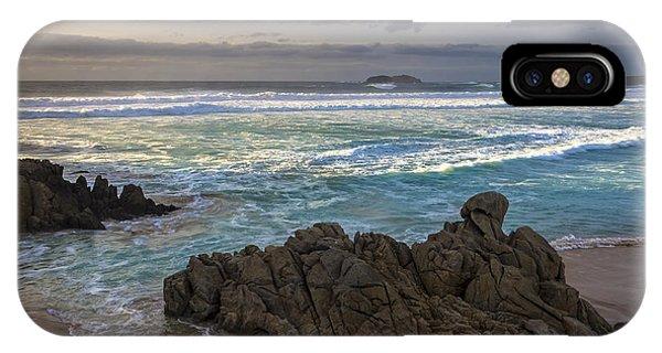 Doninos Beach Ferrol Galicia Spain IPhone Case