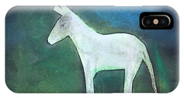 Donkey, 2011 Oil On Canvas IPhone Case