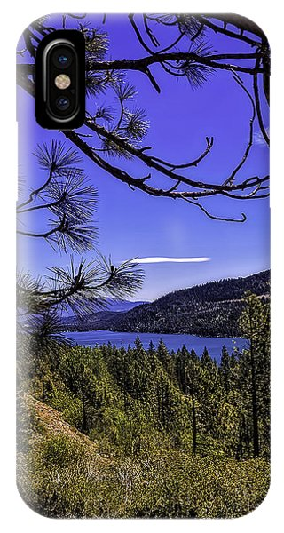 iPhone Case - Donner Lake by Nancy Marie Ricketts