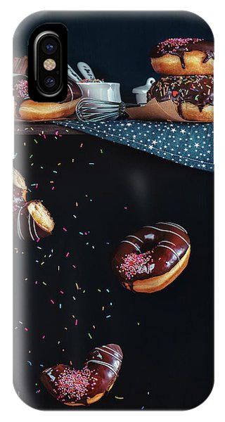 Cake iPhone Case - Donuts From The Top Shelf by Dina Belenko