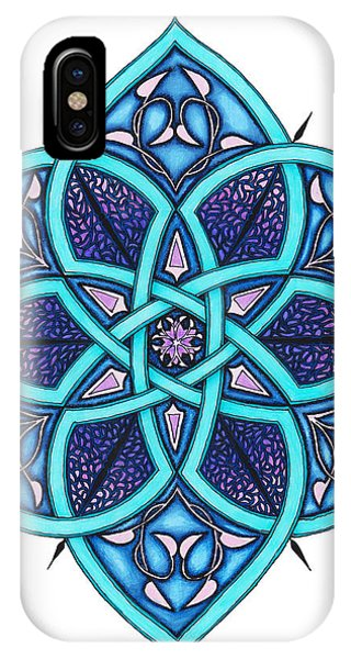 Sherri iPhone Case - Doodle 8a by Sherri Odegaarden