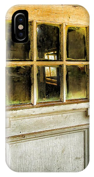 Window Pane iPhone Case - Door And Windows by Theresa Tahara