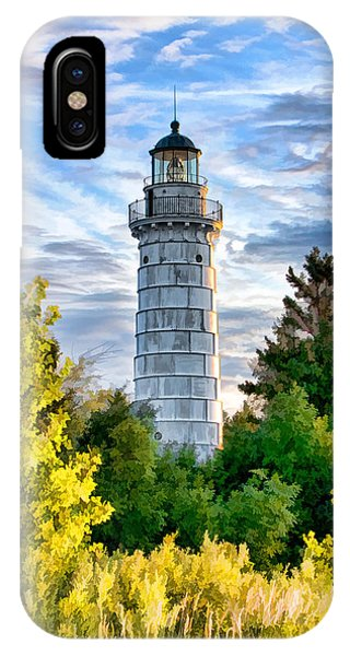 Door County Cana Island Beacon IPhone Case