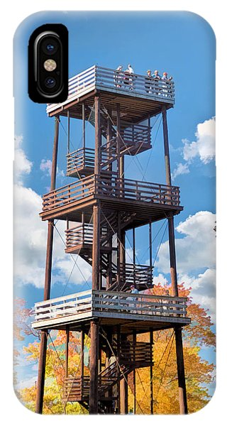 Door County Eagle Tower Peninsula State Park IPhone Case