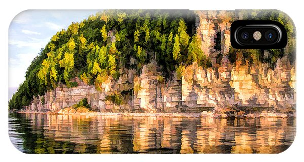 Door County Ellison Bay Bluff IPhone Case