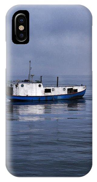 Door County Gills Rock Trawler IPhone Case