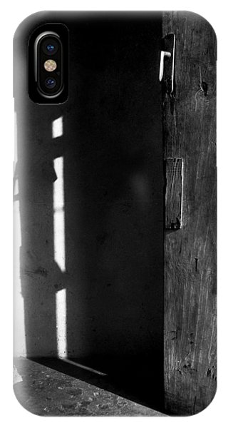 Door In Silhouette  IPhone Case