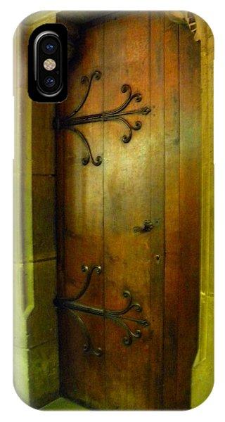 Door Inside Notre Dame Paris IPhone Case