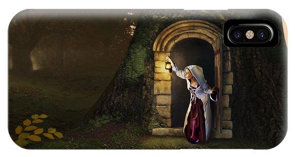 Door To The Underworld IPhone Case