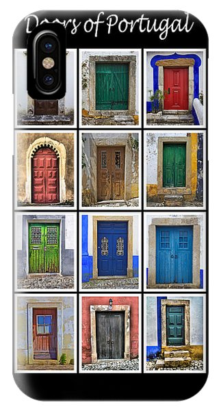 Doors Of Portugal IPhone Case