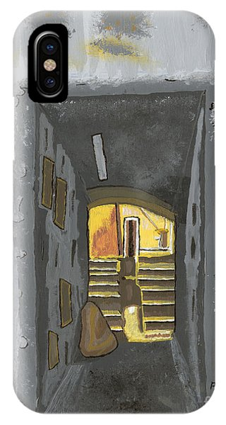 Doorway In Cinque Terra IPhone Case