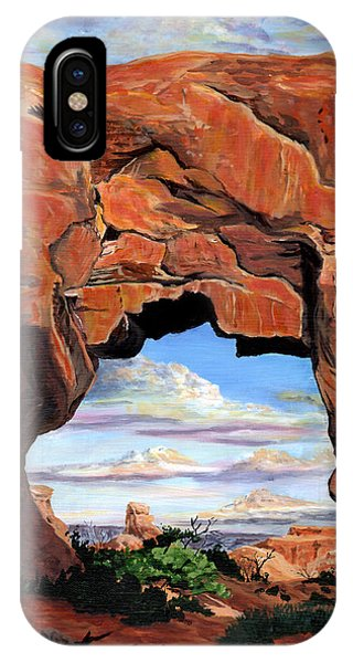 Aztec iPhone Case - Doorway To Enchantment by Timithy L Gordon