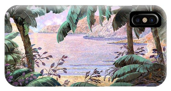 Jungle iPhone Case - Dopo La Jungla Il Mare by Guido Borelli