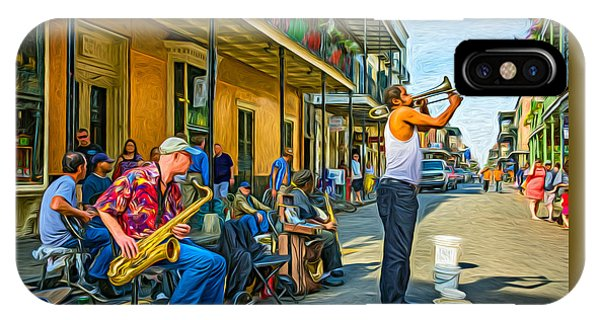 Doreen's Jazz New Orleans - Paint IPhone Case
