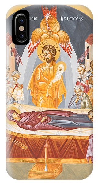 Dormition Of The Theotokos IPhone Case