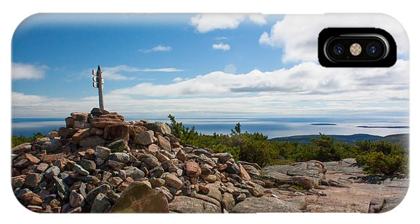 Dorr Mountain Summit - Acadia IPhone Case