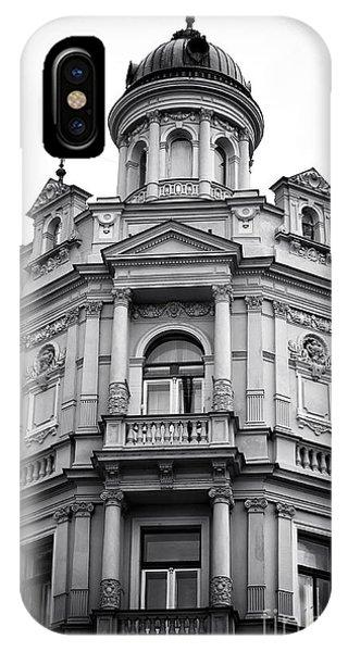 Double Balconies In Prague IPhone Case