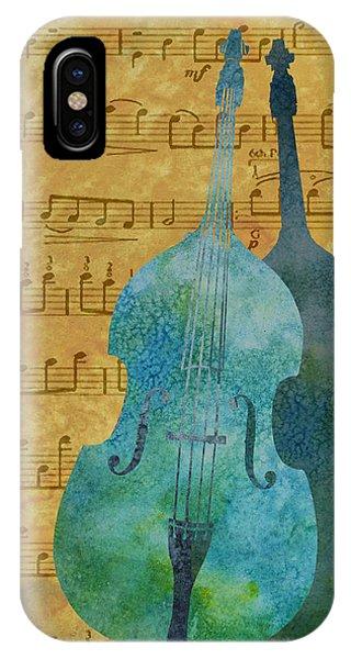 Double Bass Score IPhone Case