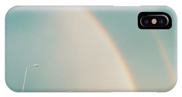 Beautiful Sunrise iPhone Case - Double Rainbow 🌈 by Raimond Klavins