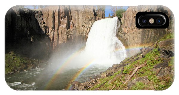 Double Rainbow Falls IPhone Case