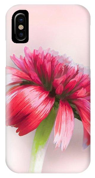 Double Scoop Delight - Orangeberry Coneflower IPhone Case