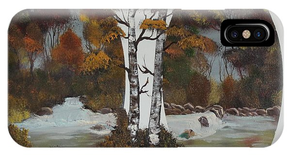 Doubling The Autumn Splendor IPhone Case