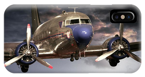 Douglas Dc 3 IPhone Case