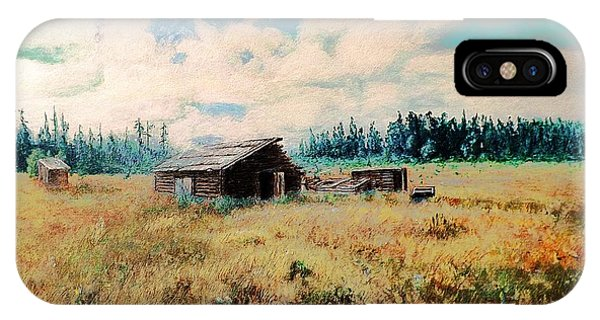 Douglas Lake Ranch  IPhone Case
