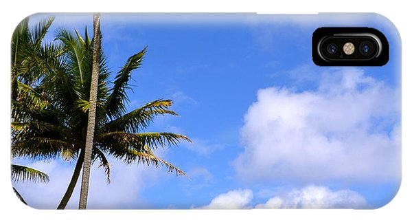 Down By The Ocean In Hawaii IPhone Case
