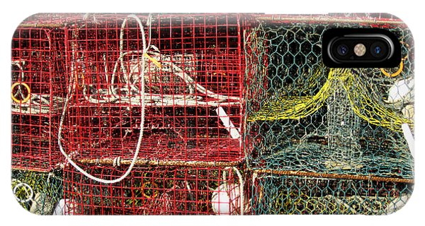 Down East Crab Pots IPhone Case