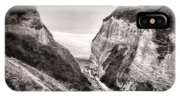 Normandy iPhone Case - Down To The Sea by Olivier Le Queinec