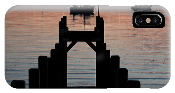 Down To The Sunset Sea IPhone Case