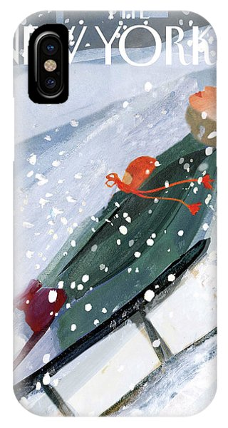 Downhill Racers IPhone X Case