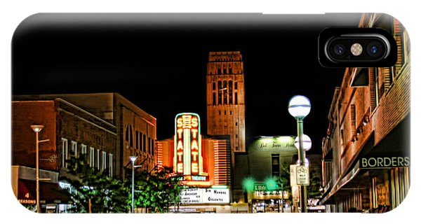 Downtown Ann Arbor IPhone Case