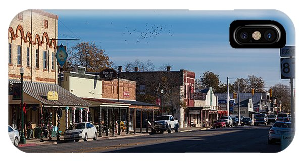 Downtown Boerne IPhone Case