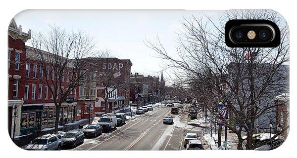 Downtown Brockport IIi IPhone Case