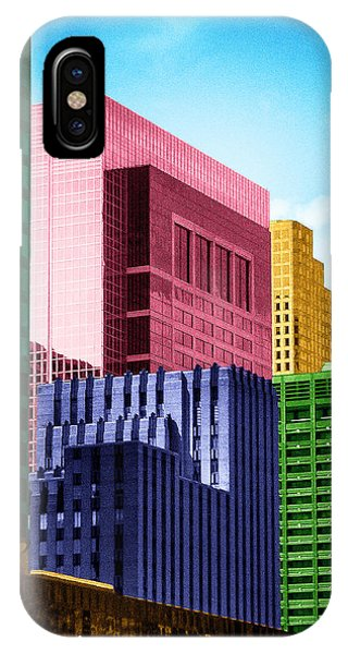 Downtown Building Blocks IPhone Case