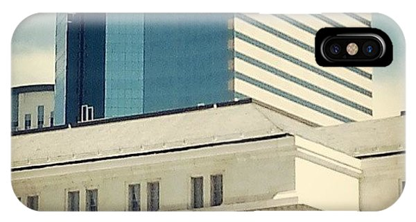 City Scape iPhone Case - Downtown Denver by Niki Crawford