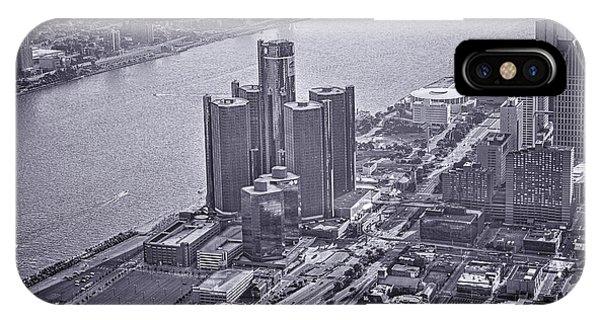 Downtown Detroit IPhone Case