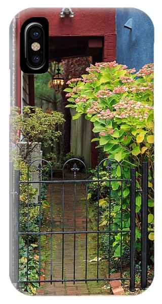 Downtown Garden Path IPhone Case