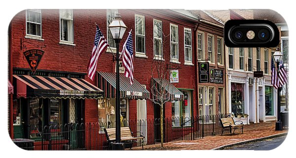 Downtown Jonesborough Tn IPhone Case
