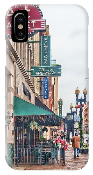 Downtown Knoxville IPhone Case