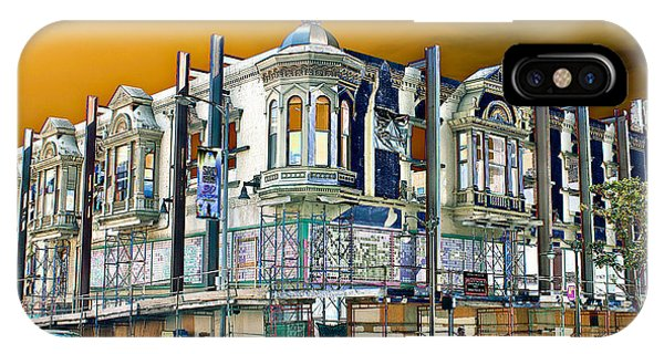 Downtown Los Angeles Corner Facade IPhone Case