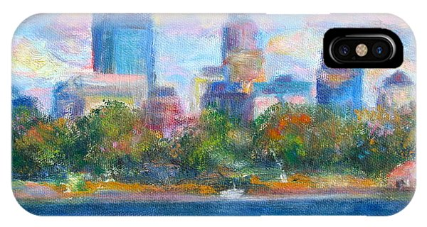 Downtown Minneapolis Skyline From Lake Calhoun IPhone Case