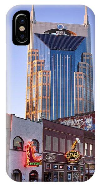 Downtown Nashville IPhone Case