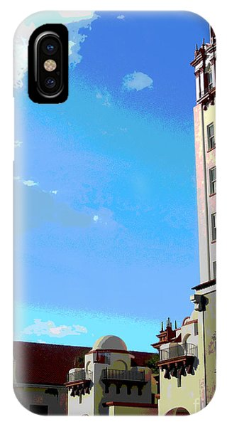 Downtown St. Augustine IPhone Case
